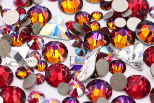 Swarovski Mixed Colour & Shape Pack King Collection 155pcs